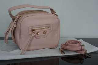 REPRICE!!! Tas Import No Brand warna Pink Soft