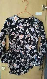 Floral Blouse #paydaymaret