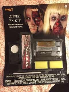 Halloween zipper make up kit