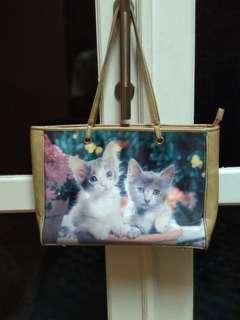 [REPRICE] Tote Bag Kucing