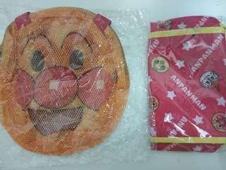 全新限定版麵包超人anpanman asahi 手挽袋斜孭袋 各25蚊一個