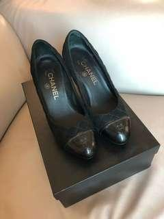 🈹️Black Chanel Pumps Size35.5