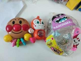 中古品 麵包超人anpanman bb玩具