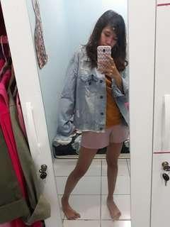 Jaket jeans freesize