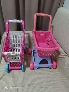 2 shopping Trolley for $16