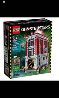 Stock* Lego 75827 Ghostbusters Firehouse Headquarters