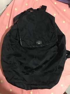 Original coach backpack black