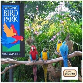 Jurong Bird Park E-ticket