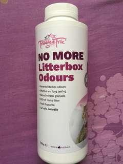 No more litterbox Odour