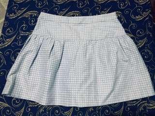Pretty sky blue skirt