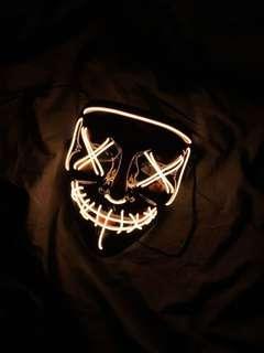 外國品牌 Wary Mask 電子發光面具 Light up Mask