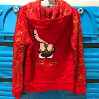 Red Hello Kitty Jacket with Hoodie