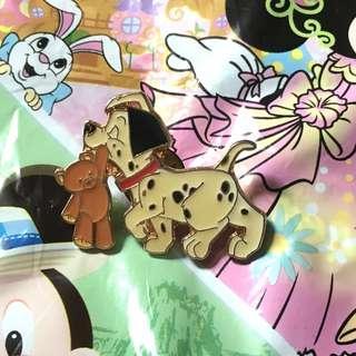 迪士尼襟章 101斑點狗 (Disney Pin/made in Taiwan)