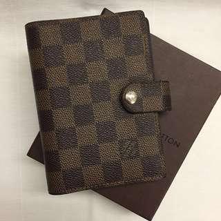 LV Louis Vuitton small ring agenda cover - 6rings 記事本 記事簿 非手袋bag