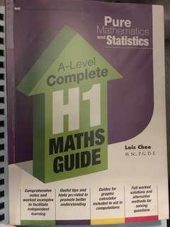 A levels H1 maths assessment book