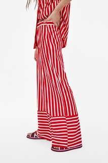 Zara trousers striped