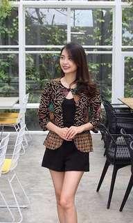 Blazer batik (jual cepat)