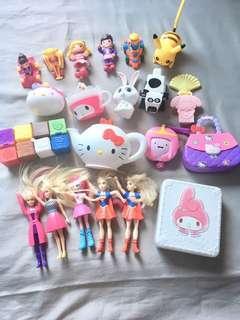 Mcdo and Jollibee Toys