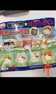 hello kitty 扭蛋 袋 日本限定