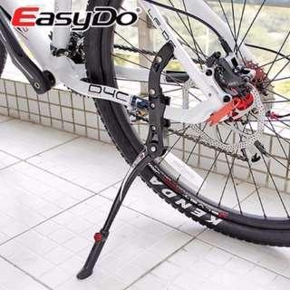 Road / Mountain Bike Stand Bicycle Rack Parking Side Rear Kick Kickstand Aluminum Alloy