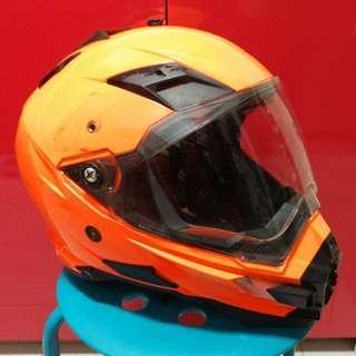 AFX FX 41 orange helmet