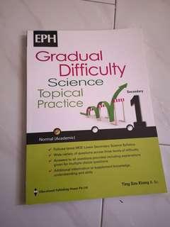 Sec 1 science normal (academic) practice book