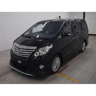 🚚 Toyota Alphard CAR RENTAL