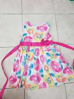 Zara girl flower dress