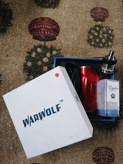 Vape warwolf + doggystyle tank (include battery)