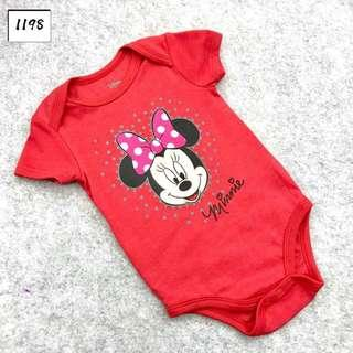 INSTOCK Disney minnie mouse baby romper