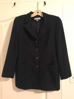 Vintage Navy Blazer | Size 4 Petite