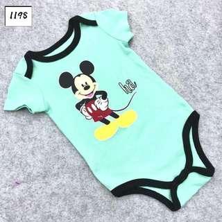 INSTOCK Disney mickey mouse baby romper