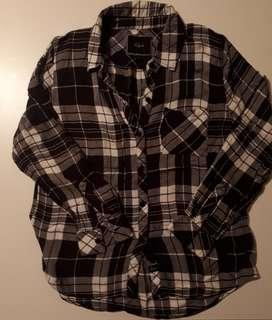 Rails flannel shirt, size L