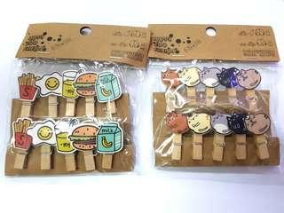 BN Assorted Wooden Pegs