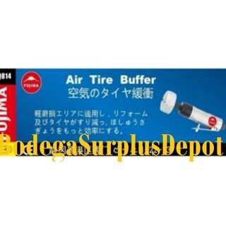 Fujima Air Tire Buffer 1/4 (Silver)Heavyduty Japan Made