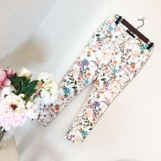 Looking for: Zara Floral Pants