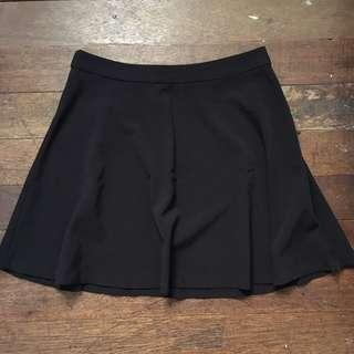 Forever 21 Black Flowy Skirt
