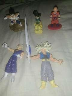 Dragon ball gashapon(all authentic)