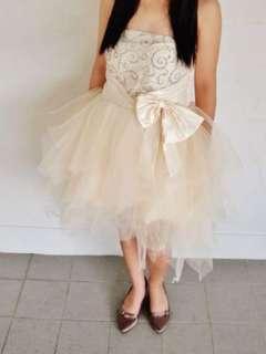 Birthday/ROM white tutty dress
