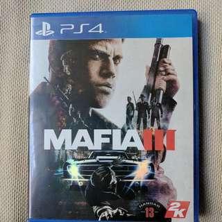 PS4 Mafia lll