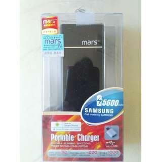 原裝Mars 5600mAh Portable Charger 手提充電器 尿袋