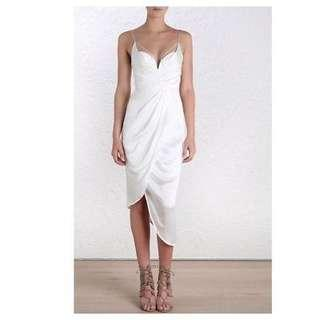 BNWT Zimmermann Pearl Silk Underwire Dress. Size 8-10 (1)