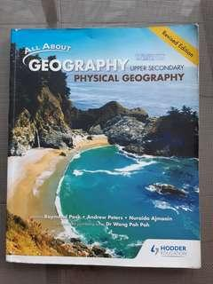 Physical geography upper secondary