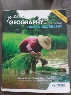 Human geography upper secondary