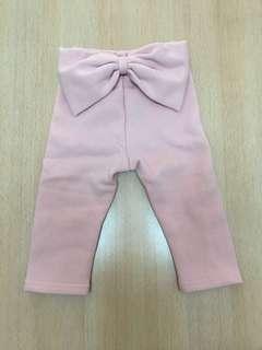 🚚 🎉寶寶 粉紅蝴蝶結長褲