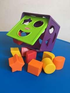 Playskool shape box