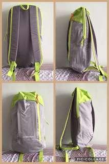 Pack bags