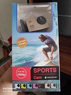 1080p Full HD Sports Cam (GOLD)