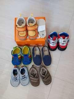 baby shoes 6 pairs