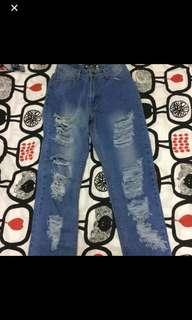 (REDUCED) Boyfriend Ripped Jeans